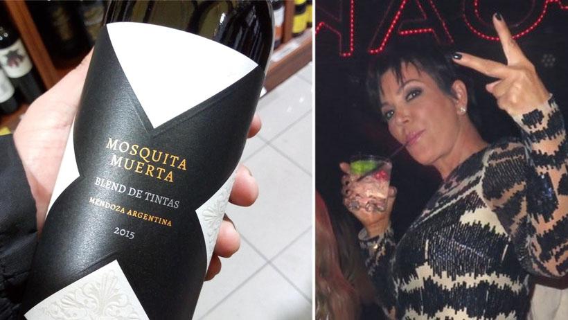 Háblale a tu amiga la persignada porque ya salió el vino perfecto para ella