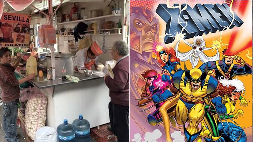 Gente inmune a la comida de puestos afuera del metro formará parte de los X-Men