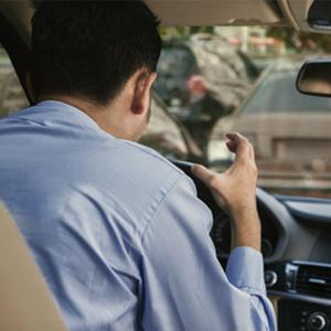 ¿Qué es lo que más te molesta de quedarte atorado en el tráfico?