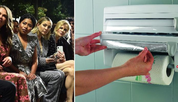 Alertan por falta de papel aluminio luego de pasarela de modas en New York