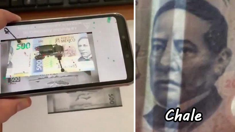 Fuimos timados nivel: App de los billetes funciona hasta con fotocopias