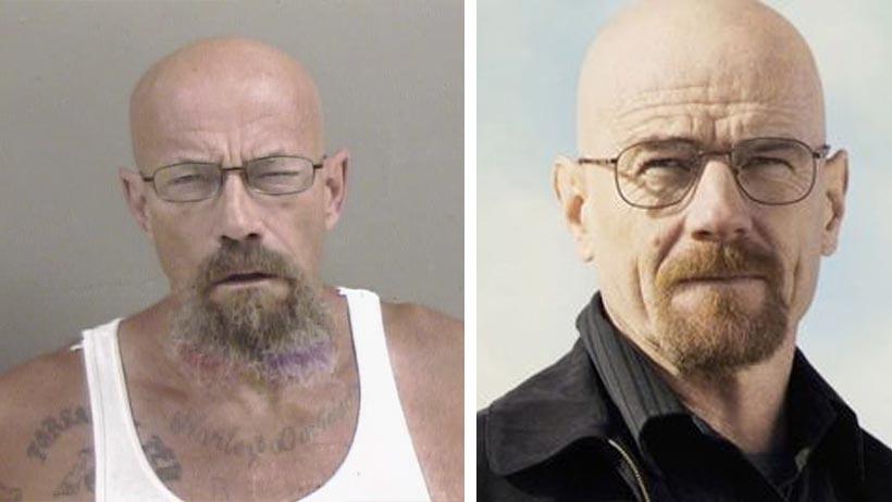 Un clon de Walter White es buscado por vender crystal meth