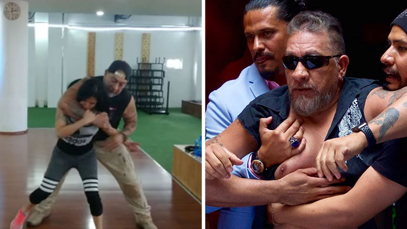 Carlos Trejo te enseña a defenderte de bullys y fantasmas con clases de defensa personal
