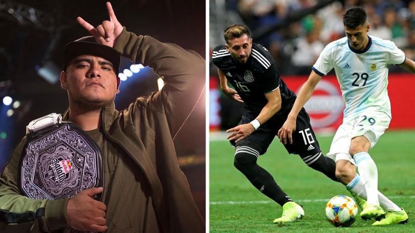 Femexfut confirma alineación de Aczino para próximos partidos contra Argentina
