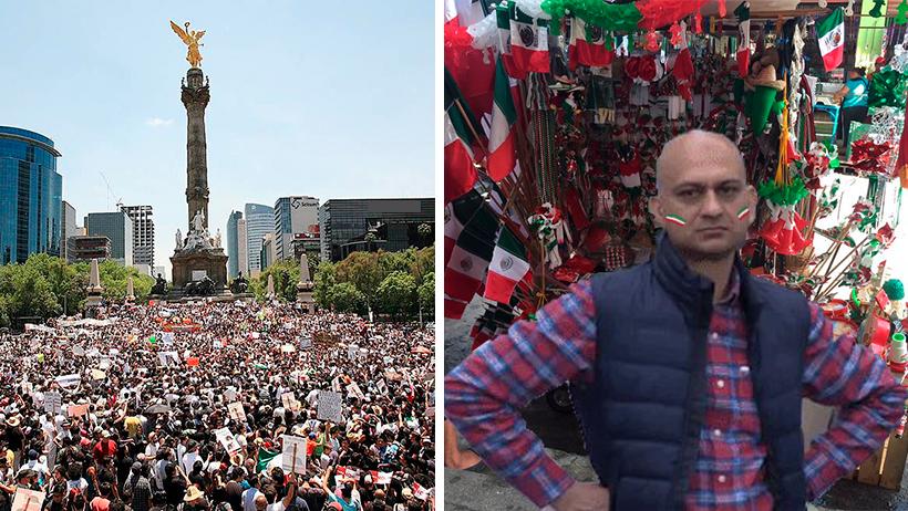 Organizan marcha para bajarle lo amargo a los payasitos que no festejan en Septiembre