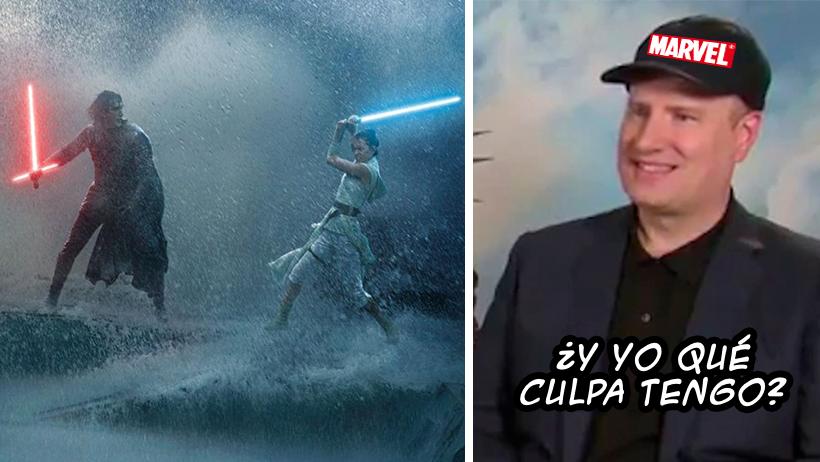 Disney contrató a Kevin Feige de Marvel para limpiar las cochinadas que hicieron con Star Wars