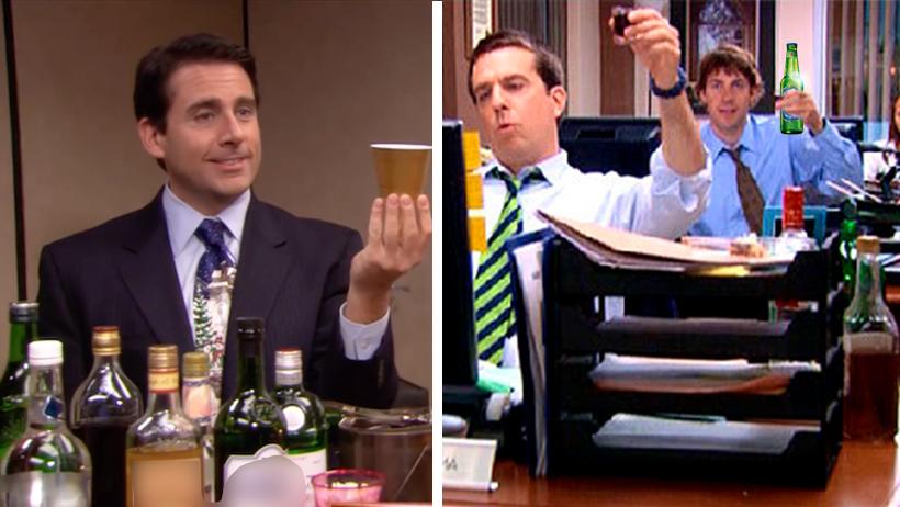 Esto sabemos sobre los cientos de godínez que están tomando en la oficina… ¡Y nadie hace nada!