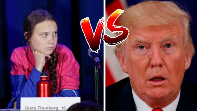 Trump trolleó a Greta Thunberg en Twitter y ella bien fregona se la regresó finita
