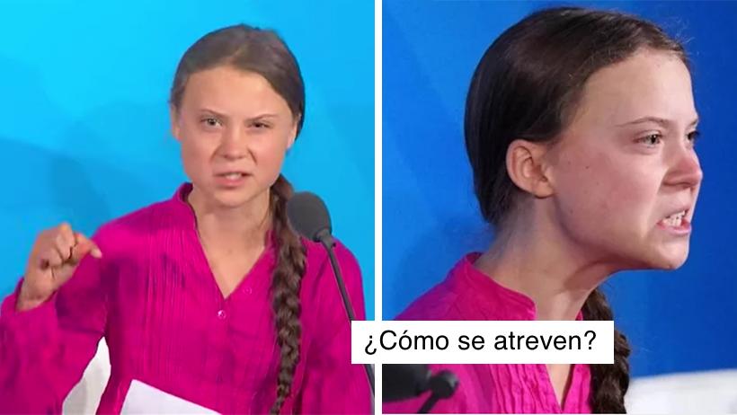 Greta Thunberg de 16, se la mentó a los líderes de la ONU y tú aún le tienes miedo a tu mamá