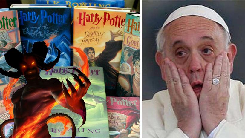Edad Media Nivel: Escuela católica prohíbe libros de Harry Potter para no invocar demonios