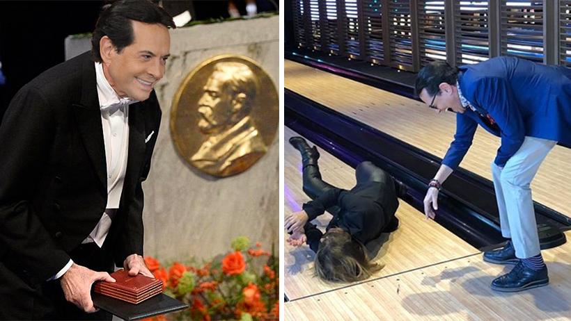 Pepillo Origel gana el Nobel de la Amistad por reírse antes que ayudar a Martha Figueroa