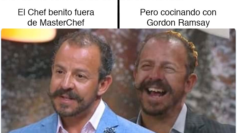 Los mejores memes de lo que pasó ayer en MasterChef y la ausencia del Chef Benito
