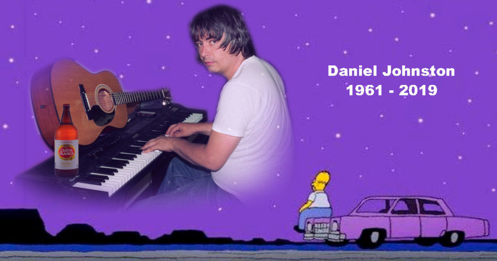 En notas que sólo a mí me importan, se murió Daniel Johnston :'(