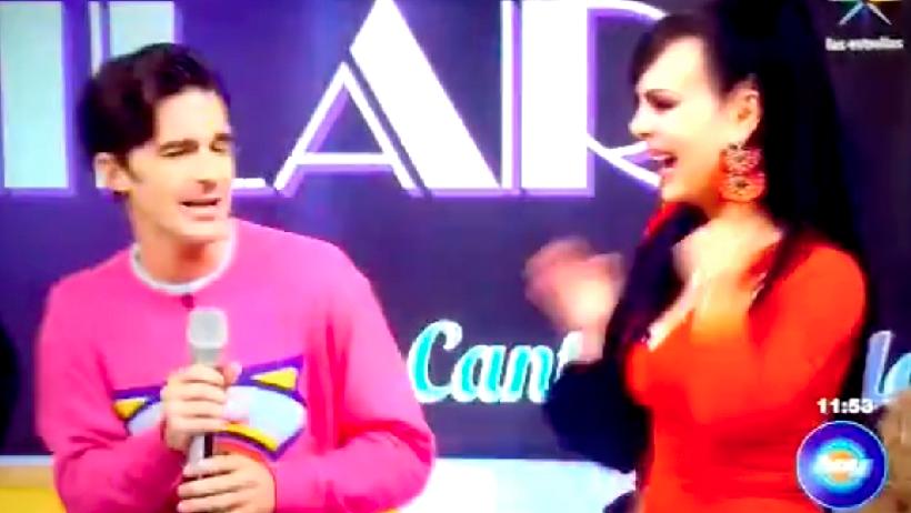 Crossovers que nadie pidió: Drake Bell y Maribel Guardia bailan en Hoy