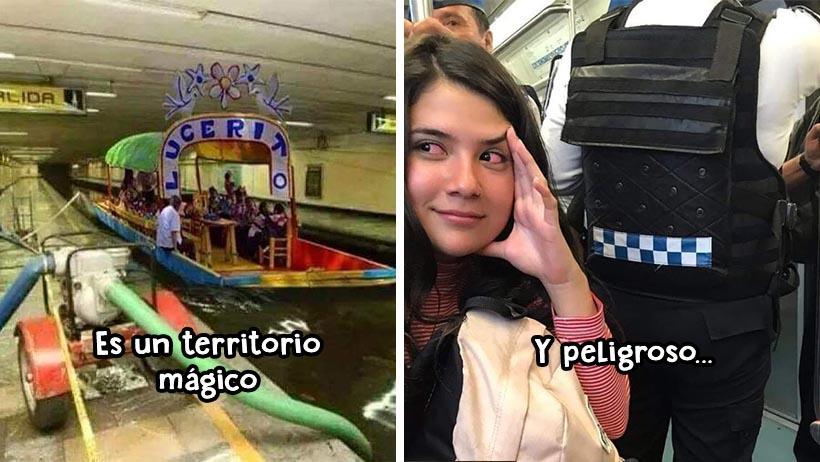17 extrañísimos momentos que todos hemos vivido en el metro de la CDMX