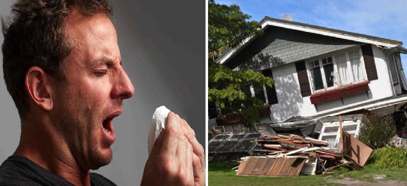 Estornudos de señores: los causantes de los sismos en el mundo