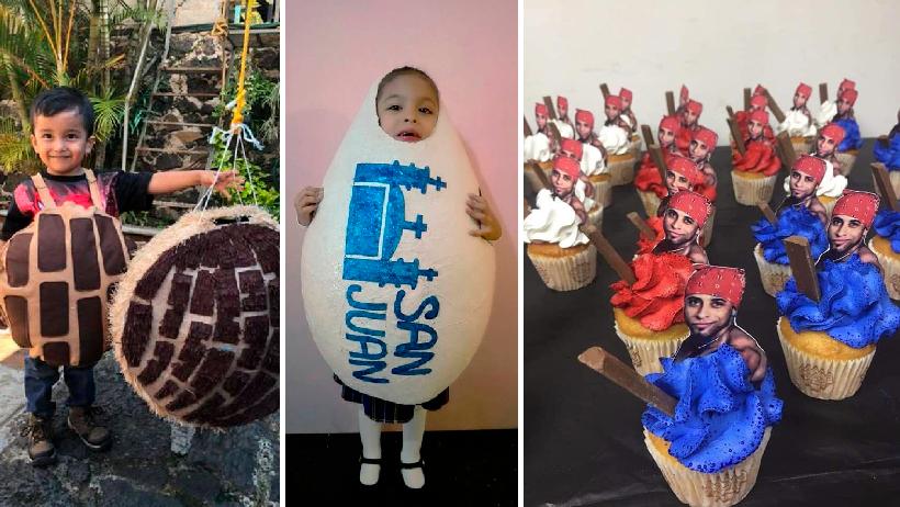 Las 13 fiestas de cumpleaños más creativas que han hecho niños y no tan niños.