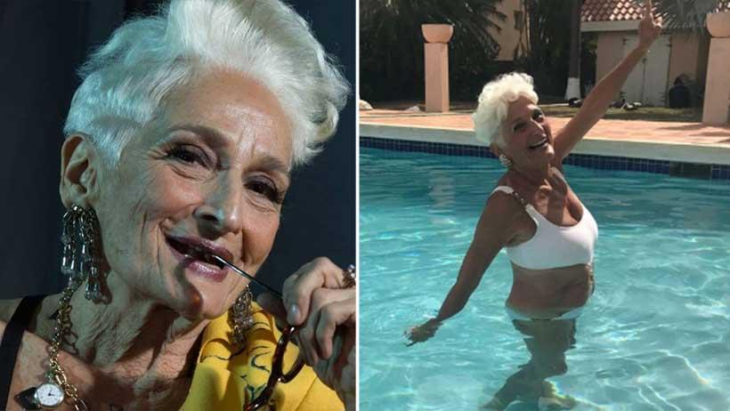 Esta abuelita de tiene 83 años, bajó Tinder y ya cosha más que tú