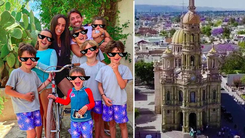 Inés Gómez Mont lleva a sus hijos a repoblar nación enana Aguascalientes