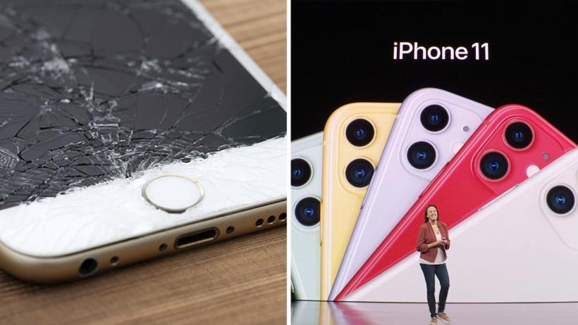 Whitexicans se declaran ansiosos de estrellarle la pantalla a sus nuevos iPhone 11