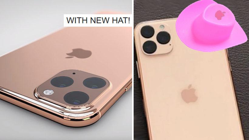 Nuevo iPhone es igual que los anteriores pero ahora contiene un lindo sombrero: Apple