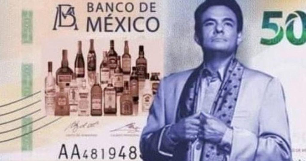 Banco de México confirma a José José para salir en los billetes de $500