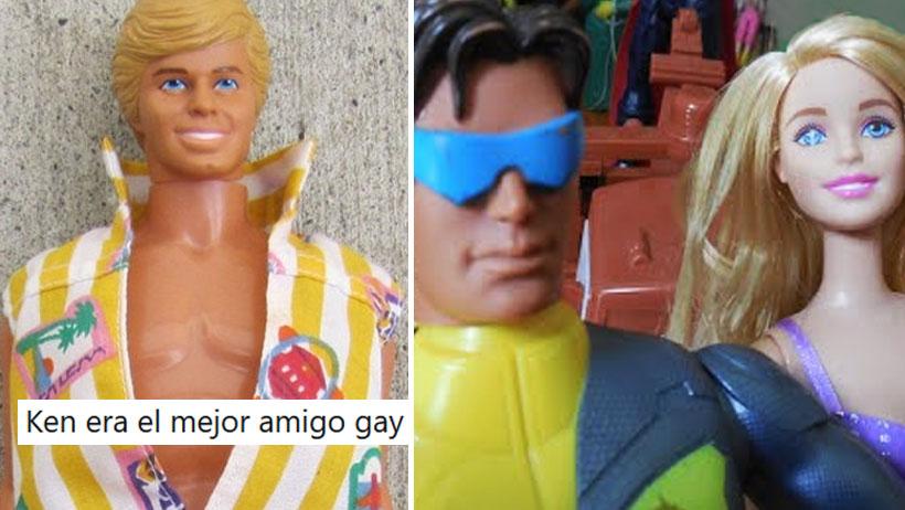 Y así fue como el internet descubrió que Ken es gay y Barbie anda con Max Steel
