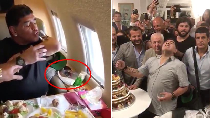 ¿Quieres sentirte sobrio y saludable? Estos 11 videos de Maradona en coca te ayudarán