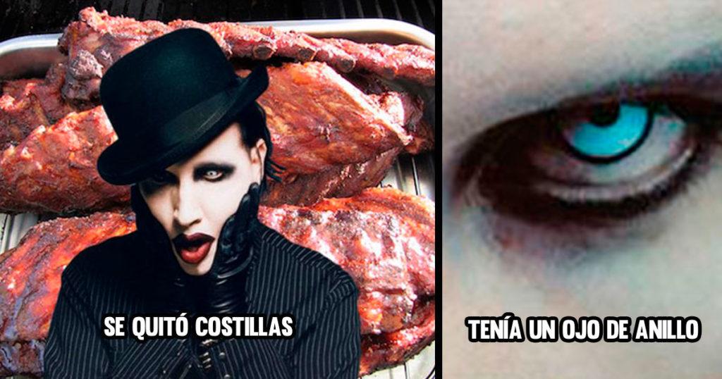 """6 mitos de Marilyn Manson que te hacían decir """"ah nu ma si es bien satánico"""""""