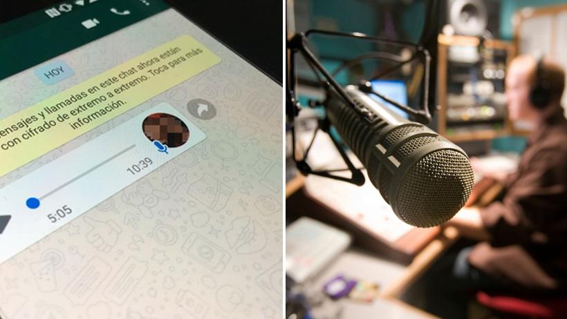 Personas que manden mensajes de Whats de más de 5 minutos obtendrán título de locutores