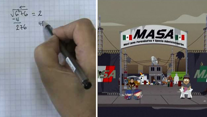 Adultos que recuerden cómo sacar la raíz cuadrada ingresarán a la NASA mexicana