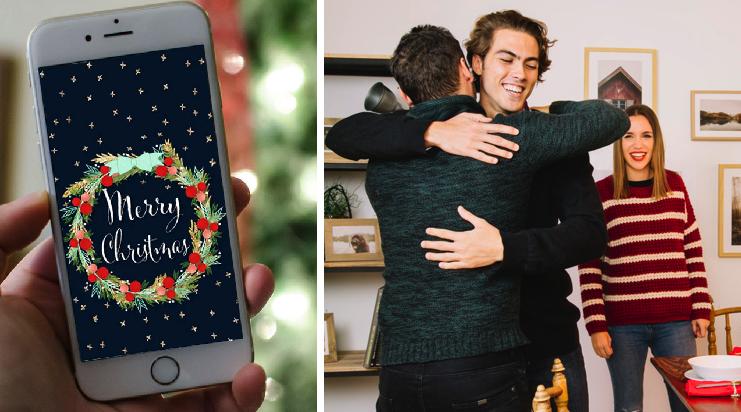 Aconsejan mandar mensajes de navidad desde ahorita para que no se te pase ningún contacto