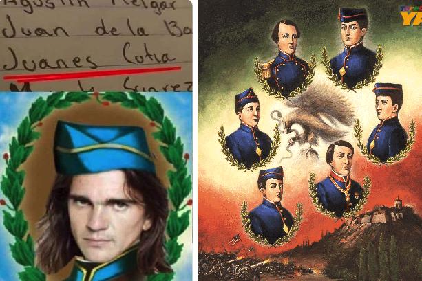 Juanes se prepara para un aniversario más de los Niños Héroes