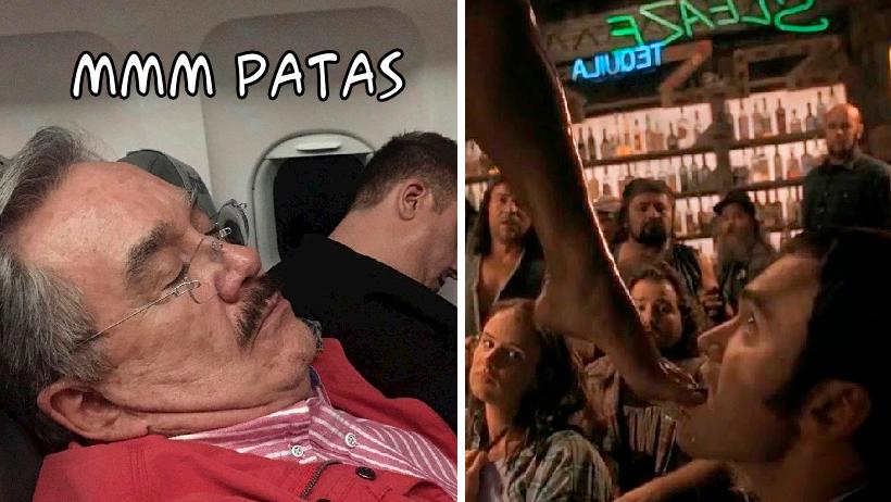 Pedrito Sola fue hackeado por Tarantino y así demostró su amor por las patas
