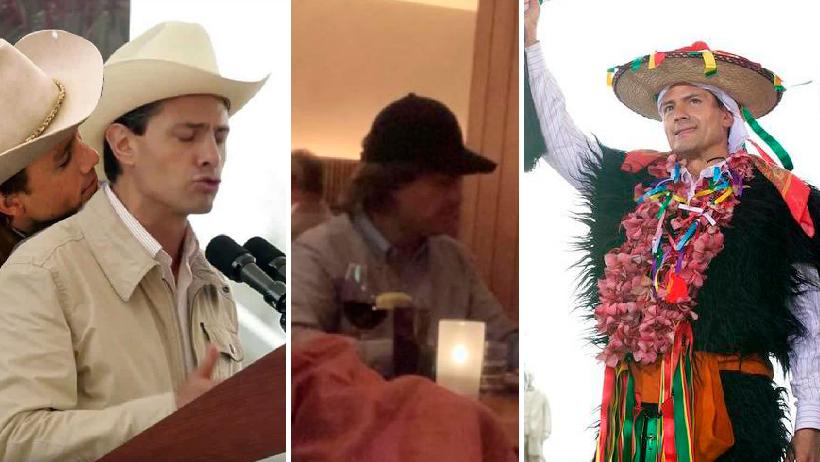 Los 11 mejores disfraces que ha usado Peña Nieto en su trayectoria como comediante