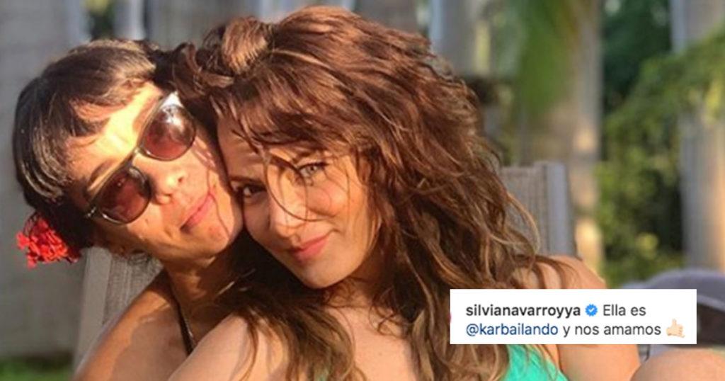 Silvia Navarro (¿quién?) dijo que ama a una mujer y el internet perdió la cabeza