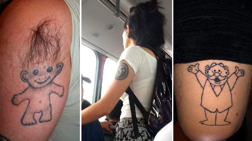 Los 23 tatuajes más creativos para que te inspires y te rayes de una vez por todas