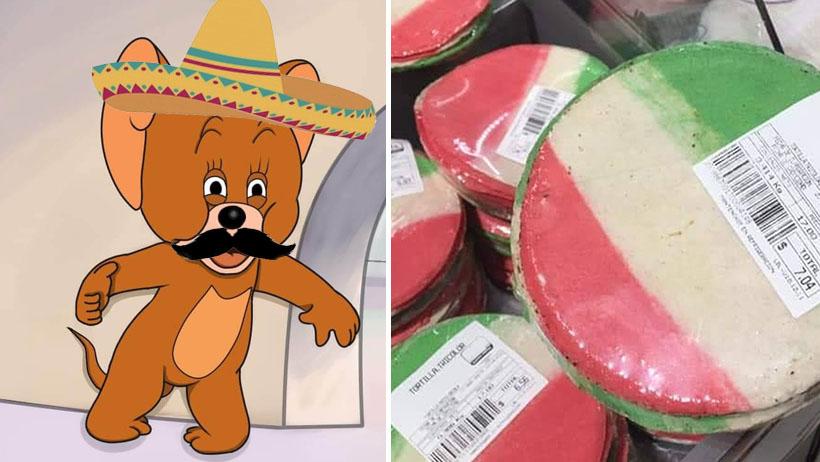 """Conoce las """"tortillas patrias"""" y tu orgullo mexicano aumentará 300%"""