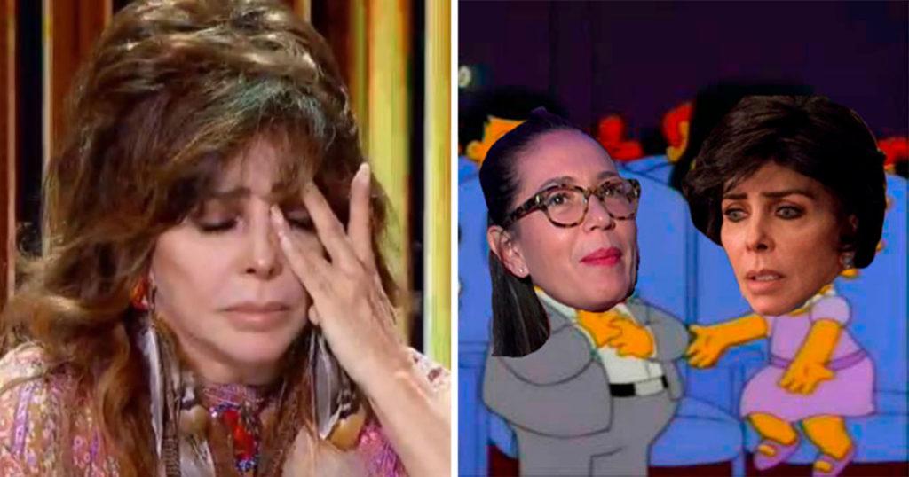 """Verónica Castro ya le puso su """"estate quieta"""" a la chismosa de Yolanda Andrade"""