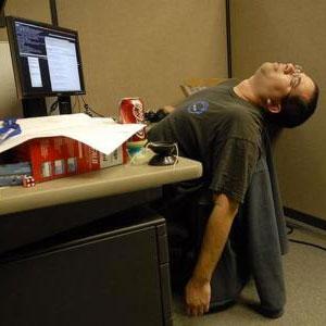 ¿Qué haces cuando estás en el trabajo y no puedes concentrarte o te está ganando el sueño?