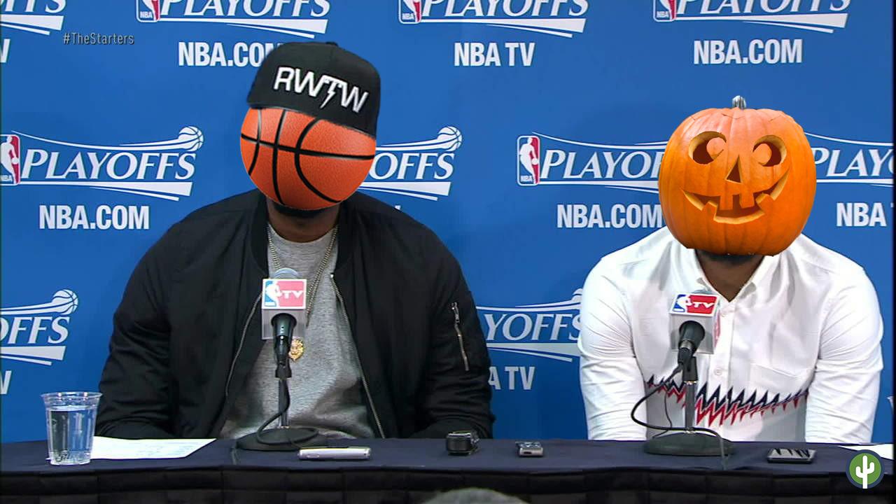 Balón de Basketball Calabaza de Halloween Meme
