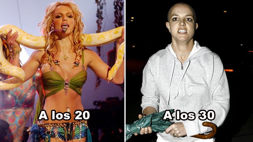 """Ciclo de vida de tus 20s, desde que andas en """"perra"""" hasta que eres la Britney pelona"""