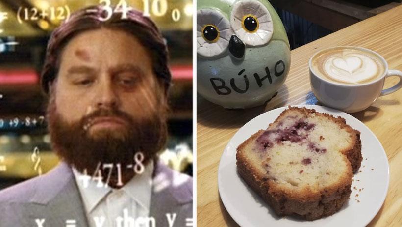 Personas que se acaben al mismo tiempo el pan y el café obtendrán grado de matemáticos