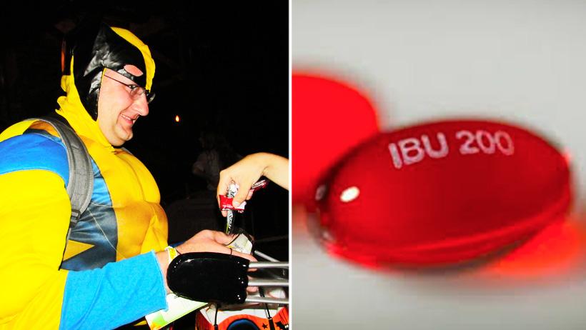 Adultos podrán recibir Ibuprofeno como calaverita para este año