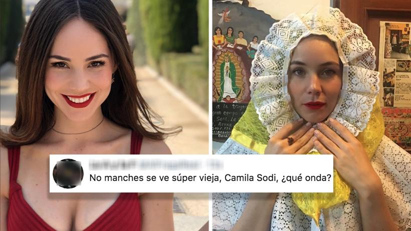 Camila Sodi publicó unas ancianas fotos donde se le nota la edad y las envidiosas la destrozaron