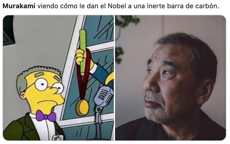 Murakami Premio Nobel Literatura reacciones