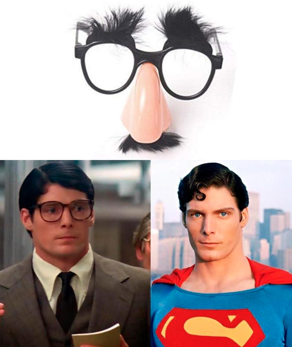 The Clark Kent Effect