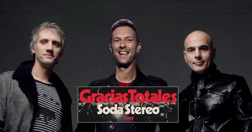 Soda Stereo cambió a Cerati por Chris Martin y ya son la botana del internet