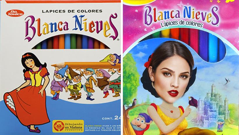 ÚLTIMA HORA: Los colores Blanca Nieves hicieron un Eiza González y así luce ahora
