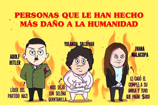 Personas que le han hecho más daño a la humanidad